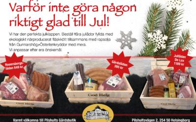 Beställ din julgåva på Pilshults Gårdsbutik
